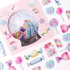 [금박] 학교앞 사탕가게 요술램프 스티커팩