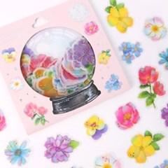 [금박] 야외결혼식 플라워 요술램프 스티커팩