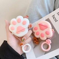 귀요미 고양이 발바닥 에어팟 케이스