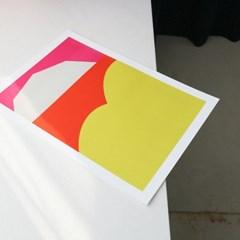 A3 POSTER - 03 Orange Ocean (A3 포스터)
