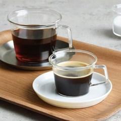 킨토 캐스트 드링크 커피컵 세라믹소서 세트 220ml_(1327303)