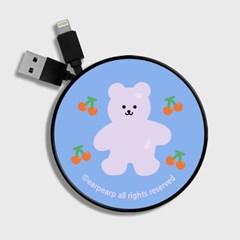 Four cherry bear-light blue(스마트릴)_(1175503)