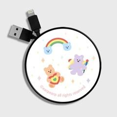 Rainbow bear-white(스마트릴)_(1175500)