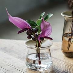킨토 루나 유리 베이스 꽃병(소) 2컬러_(1327201)