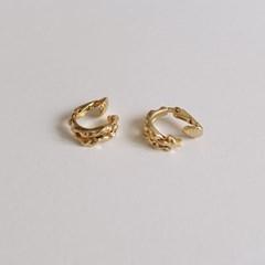 Bold triple earring