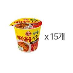 [오뚜기] 컵누들 마라볶음 쌀국수 컵 (48g) x 15