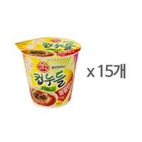 [오뚜기] 컵누들 매콤한맛 컵 (37.8g) x 15