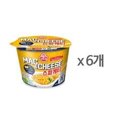 [오뚜기] 맥앤치즈 스파게티 (130g) x 6
