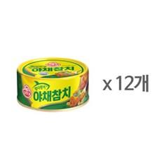 [오뚜기] 고추 참치 (150g) x 12