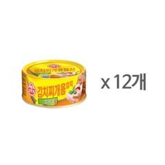 [오뚜기] 김치찌개용 참치 (150g) x 12