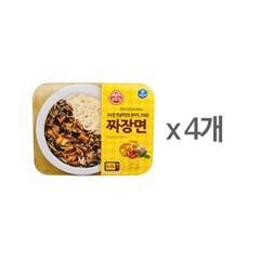[오뚜기] 짜장면(냉동) (350g) x 4