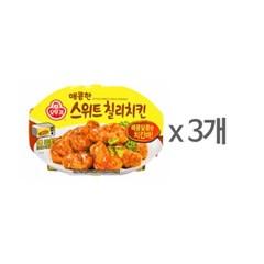 [오뚜기] 매콤한 스위트칠리치킨 (180g) x 3