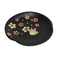 [이웃집 토토로] 미노야끼 토토로 접시(중) 14.4cm