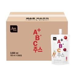 [실속포장][호재준]A+B+C주스 100ml x 30포(벌크용)