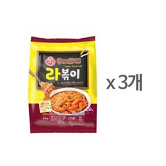 [오뚜기] 뚜기네 분식집 라볶이 (436g) x 3
