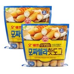 [오뚜기] 오쉐프_더 맛있는 모짜렐라 핫도그 (500g) x 2