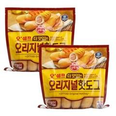 [오뚜기] 오쉐프_더 맛있는 오리지널 핫도그 (500g) x 2
