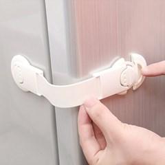 서랍장 냉장고 싱크대 안전잠금장치(클립형) [539]