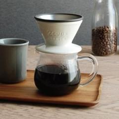 킨토 슬로우 커피 스타일 커피 서버 300ml_(1327757)