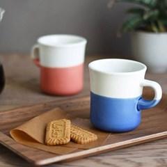 킨토 슬로우 커피 스타일 투톤 머그컵 250ml_(1327743)