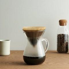 킨토 SCS 커피 카라페 세트 2컵 300ml 플라스틱 드리퍼_(1327732)