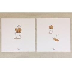 [달의공간] 나도바게트&바게트고양이
