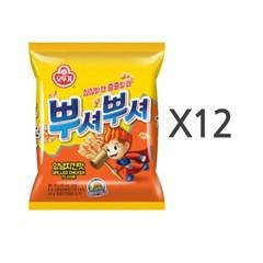 [오뚜기] 뿌셔뿌셔 양념치킨맛 (90g) x 12