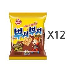 [오뚜기] 뿌셔뿌셔 불고기맛 (90g) x 12