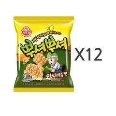 [오뚜기] 뿌셔뿌셔 와사비김맛 (90g) x 12