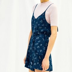 [Slip Jumpsuit] Berry - Navy