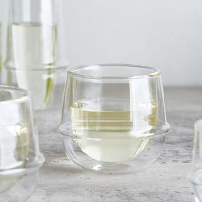 킨토 크로노스 더블월 와인 글라스 250ml_(1327432)