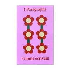 1 Paragraph Écrire Femme-Pink