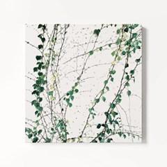 캔버스 인테리어 식물 그림 천 아트 액자 그린 월