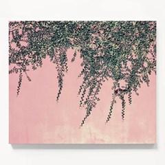 캔버스 식물 인테리어 패브릭 천 액자 그린 아이비