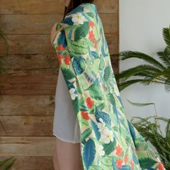 슈퍼 빅 비치타월 트로피칼 Super Big Beach Towel