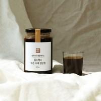 몸속부터 따뜻해지는 김소형의 덖은 수제 생강청