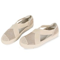 kami et muse Elastic cross band lace sneakers_KM19s237