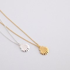 (92.5 silver) under clam necklace