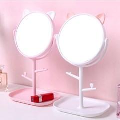 고양이메이크업탁상거울