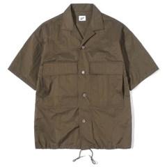 String Half Shirts Brown