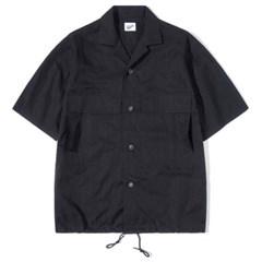 String Half Shirts Black