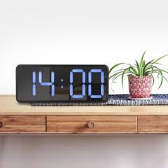 3D LED 무소음 대형 벽시계 탁상겸용 알람시계 LC3386