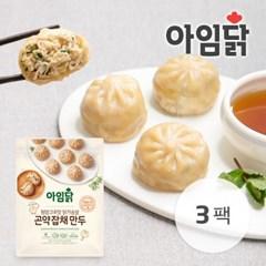 [아임닭] 청양고추맛 닭가슴살 곤약 잡채 만두 360g 3팩