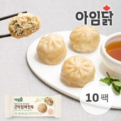 [아임닭] 청양고추맛 닭가슴살 곤약 잡채 만두 90g 10팩