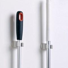 [The Flat74] 접착식 청소도구 걸이 / 홀더