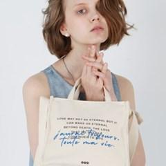 블루 미니토트/텀블러/크로스백 (Blue tote/cross bag)