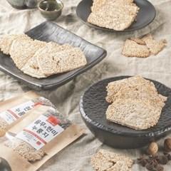 [바른누룽지]쌀눈쌀유기농현미 100% 수제현미누룽지X3팩