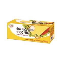 서울우유 체다 슬라이스치즈 1.8kg (100장)