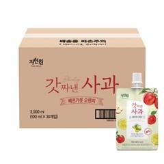 [실속포장][자연원]갓짜낸사과 베르가못오렌지100ml x 30포(벌크용)