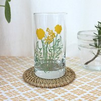 Dandelion Glass Cup
